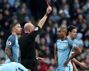Manchester City's Fernandinho faces four-match ban after FA appeal fails