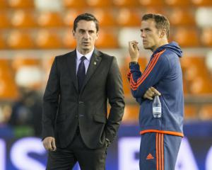 Valencia president Layhoon Chan: Gary Neville never lost board's support