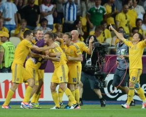 Shevchenko delivers fairytale start for Ukraine