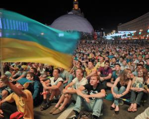 Ukraine v Sweden - Kiev explodes with joy after Ukraine win