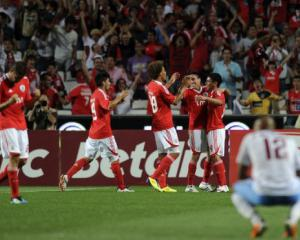 Benfica pile on misery for Turks in Champions League qualifiers
