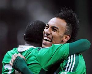 Aubameyang treble maintains St Etienne hot streak