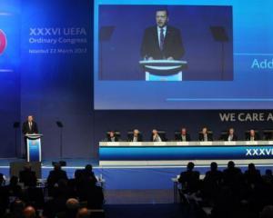Erdogan launches Turkish bid to host Euro 2020