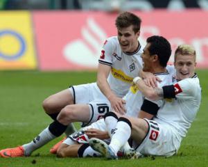 Gladbach closer to Champions League berth