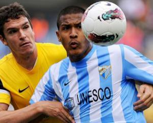 Malaga's push for third checked by Real Sociedad