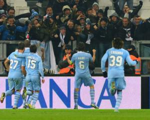 Lazio hold Juve in Cup semi-final