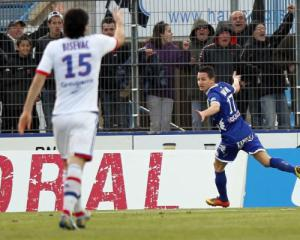 Lyon crash at Bastia to dent title hopes