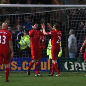 Premier League: January highlights - Suarez, van Persie, Baines, Zabaleta