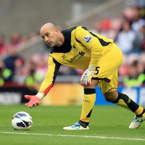 Liverpool 'keeper Reina happy after finding new formula