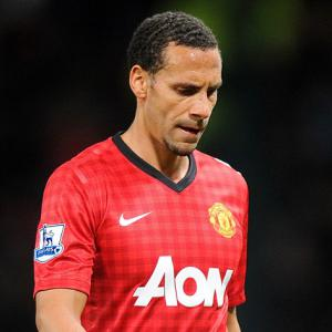 Rio unhappy with England fans