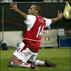 Top 10 Champions League shocks - 4 - Inter Milan 1 Arsenal 5