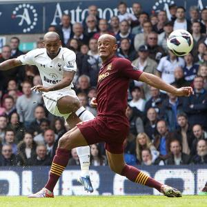 Spurs battle back for victory over Man City