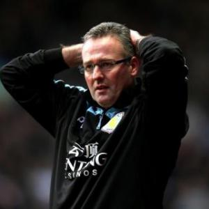 First half misses cost Villa match - Lambert