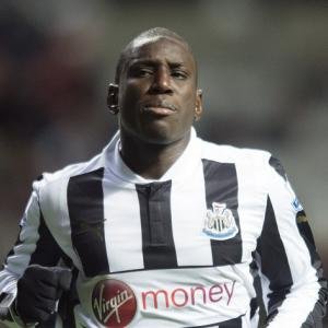 Demba Ba moving towards Newcastle exit