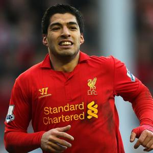Liverpool striker Luis Suarez says, 'Only a win will do'