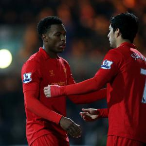Rodgers: Suarez can help Sturridge