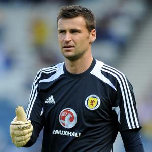 Finding a settled side key for Scotland goalkeeper David Marshall