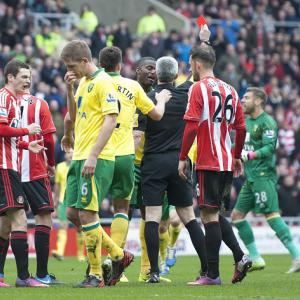 Norwich fail in goalkeeper red card appeal