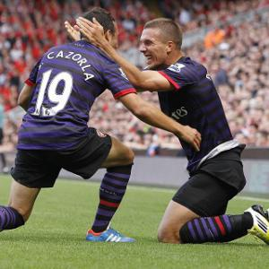 Liverpool 0-2 Arsenal: Report