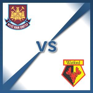 Watford away at West Ham United - Follow LIVE text commentary