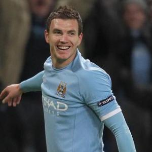 Dzeko aims high after breaking duck