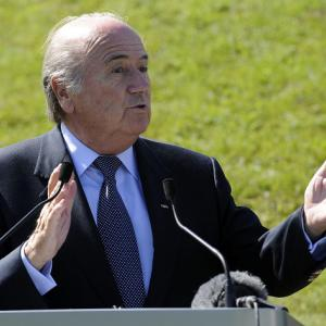 Blatter wants end to racism in football