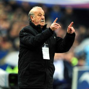 Del Bosque praise for 'excellent' Italy