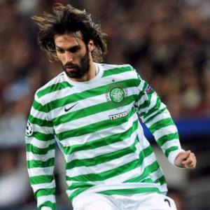 Lennon sweating on Samaras fitness