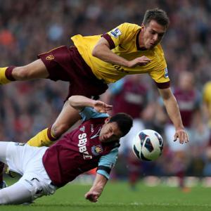Arsenal's boxing day clash against West Ham in doubt