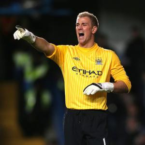 Man City goalkeeper Joe Hart still confident about title