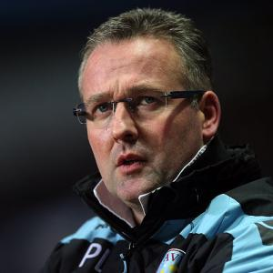 Aston Villa Manager Paul Lambert's job 'safe'