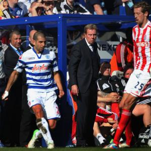 Redknapp admits defeat for QPR in drop race