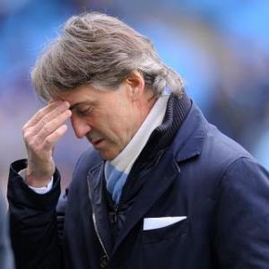 Man City sack manager Mancini