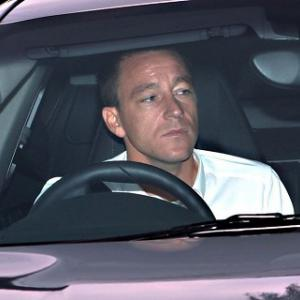 Terry leaves Wembley as verdict looms