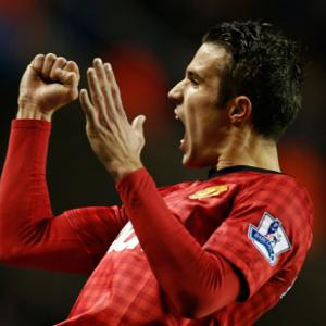 Real Madrid V Manchester United: Ronaldo V van Persie