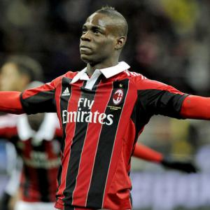 AC Milan striker Mario Balotelli at centre of racism storm