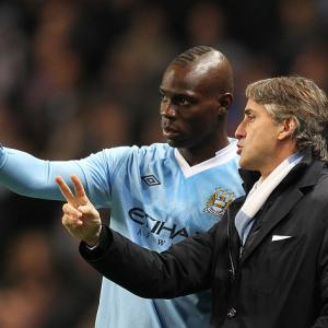 Manchester City boss Mancini set to explain Balotelli clash