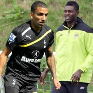 Spurs could land Emmanuel Adebayor if Aaron Lennon joins Manchester City