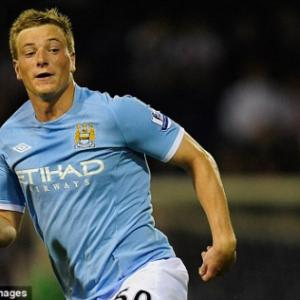 Burnley sign Manchester City striker John Guidetti on loan