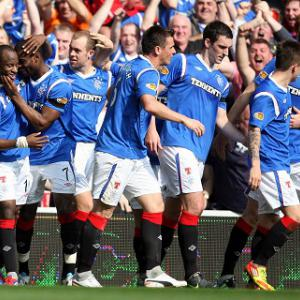 Rangers delay Celtic title triumph