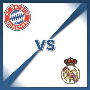 Bayern Munich V Real Madrid - Follow LIVE text commentary