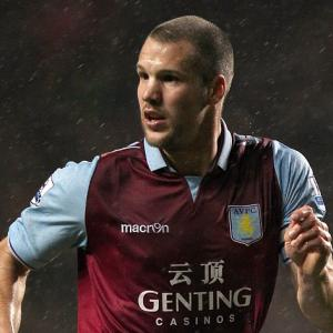 Aston Villa Manager Paul Lambert boosted by Ron Vlaar return