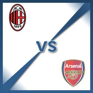 Arsenal away at AC Milan - Follow LIVE text commentary