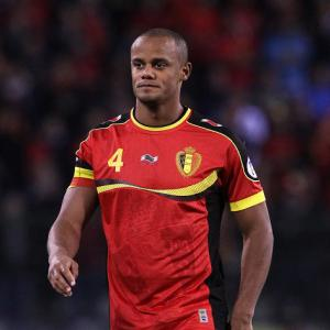 Man City captain Kompany could feature for Belgium