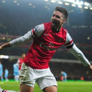 Olivier Giroud wants a hungrier Arsenal