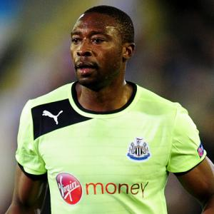 Newcastle's Shola Ameobi looks back to the future