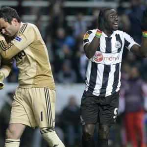 Benfica end Newcastle run