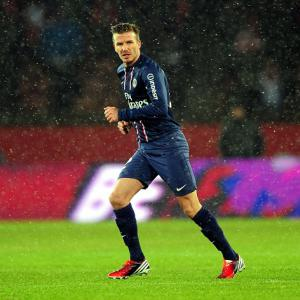 Ancelotti confirms Beckham to start against Marseille