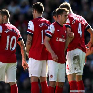 Daunting draw for Arsenal