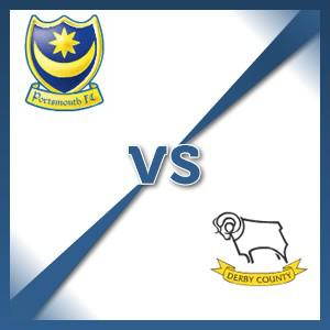 Derby County away at Portsmouth - Follow LIVE text commentary